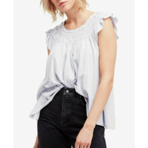 FREE PEOPLE Womens Blouse Shirt Top, Size L